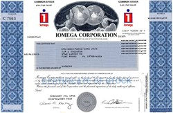Iomega Corporation - Delaware 1998