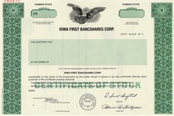 Iowa First Bancshares Corp. - Iowa