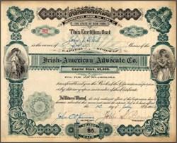 Irish - American Advocate Co. - 1905
