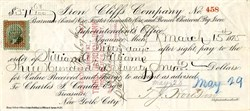 Iron Cliffs Company - Michigan 1875