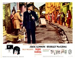 Irma La Douce Lobby Card Starring Jack Lemmon and Shirley MacLaine - 1963