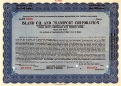 Island Oil and Transport Corporation