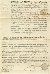 Colonial Note Payable for $580 - Catskill, New York 1798