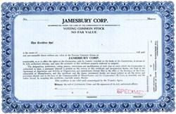 Jamesbury Corp. - Massachusetts