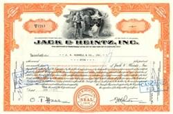 Jack & Heintz, Inc. - Delaware 1957