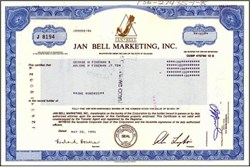 Jan Bell Marketing, Inc. (Now Mayor's Jewelers Inc)
