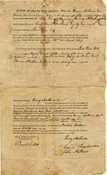 Jefferson County Bond Document - Virginia ( Pre West Virginia) 1809
