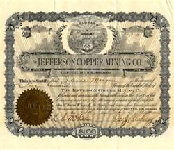 Jefferson Copper Mining Co. - Colorado 1900
