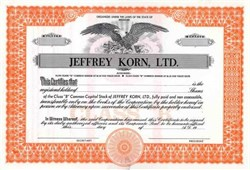 Jeffrey Korn, LTD.