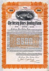 Jersey Pines Poultry Farm  - New Jersey 1909