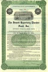 Jewett Repertory Theatre Fund, Inc. ( Now Huntington Theatre ) - Massachusetts 1924