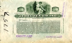 Jewel Tea Co., Inc. - New York 1916