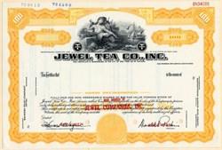 Jewel Tea Co. Inc. Specimen - New York