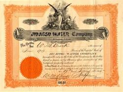 Jiu-Jitsu Water Company - Biringham, Alabama 1905