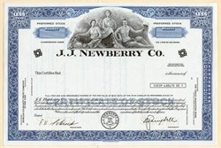J. J. Newberry Co. Specimen - Delaware