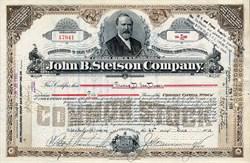 John B. Stetson Company (Famous Hat Company)  - Pennsylvania 1913