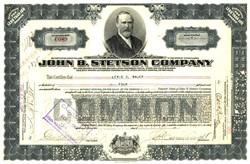 John B. Stetson Company ( Stetson Cowboy Hat ) - 1922