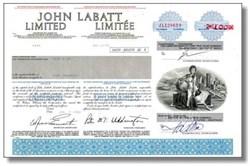 John Labatt Limited - Famous Beer Company