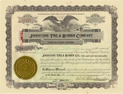 Johnstone Tire and Rubber Company 1919 - 1921