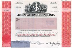 John Wiley & Sons, Inc. - Famous Publisher