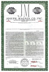 Joseph Magnin Company, Inc. - California 1966 ( Famous Department Store )