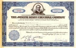 Joseph Dixon Crucible Company 1958 ( Now Dixon Ticonderoga Company )