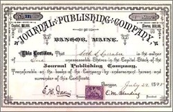 Journal Publishing Company 1898
