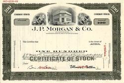 J. P. Morgan & Co. - Delaware 1969