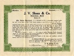 J.V. Sloan & Company - New York