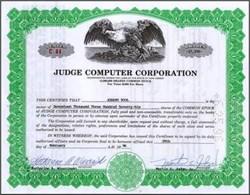 Judge Computer Corporation