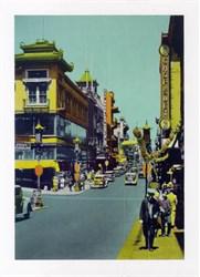 Jumbo Postcard from Chinatown, San Francisco, California