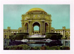 Jumbo Postcard from the Palace of Fine Arts, San Francisco, California