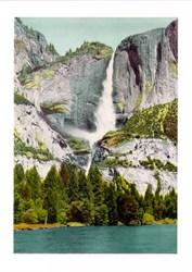 Jumbo Postcard from Yosemite Falls, Yosemite National Park, California