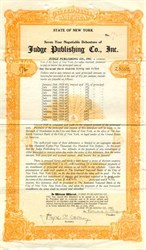 Judge Publisihing Company, Inc. - New York 1928