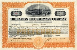Kansas City Railways Company - Delaware