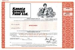 Kanata Genesis Fund Limited - Ontario, Canada