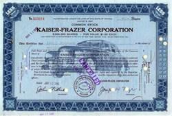 Kaiser Frazer Corporation with 1949 Overprint