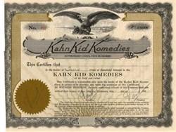 Kahn Kid Komedies - 1920s