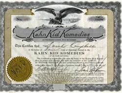 Kahn Kid Komedies - 1924