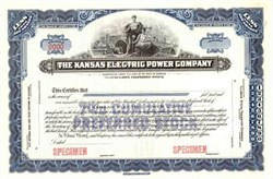 Kansas Electric Power Company ( Early Western Resouces Inc Company )