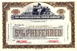 Kansas Electric Power Company 1935