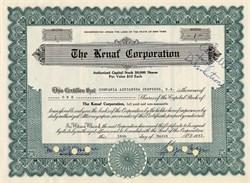 Kenaf Corporation - Manati, Cuba 1952