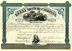 Keely Motor Company  ( Perpetual Motion Machine Fraud ) - 1897