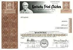 Kentucky Fried Chicken Corporation (KFC) RARE (John Y. Brown, Jr as President)  - Shelbyville, Kentucky 1969