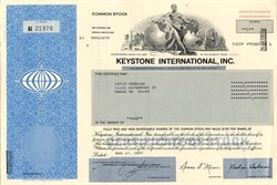 Keystone International, Inc. (No Longer Publicly Traded) - Texas 1997