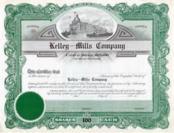 Kelley - Mills Company - Massachusettes