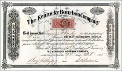 Kentucky Bourbon Company 1865 - New York