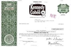 Kennedy & Cohen Inc. - Famous Bankruptcy Case