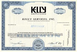 Kelly Services, Inc. - Delaware ( The Kelly Girl )