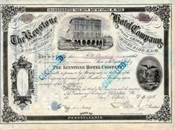 Keystone Hotel Company 1908